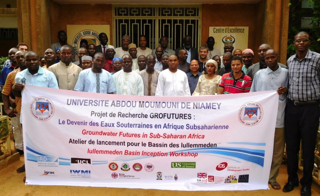 Iullemmeden Basin Inception Workshop August 23, 2016 Group Photo