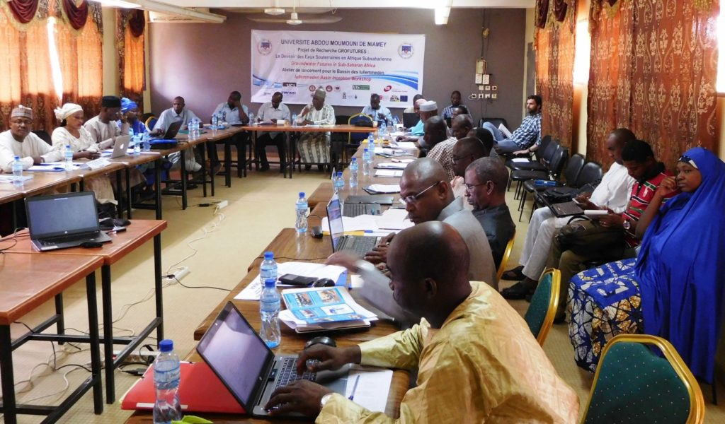 Iullemmeden Basin Inception Workshop held at Abdou Moumouni University in Niamey, Niger